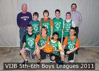 7836 VIJB 5th-6th Boys Leagues 2011